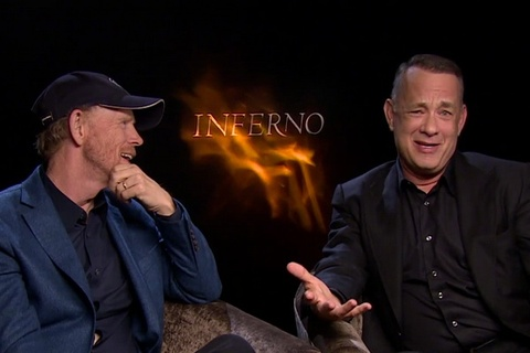 Tom Hanks va dao dien Ron Howard tra loi phong van Zing.vn hinh anh
