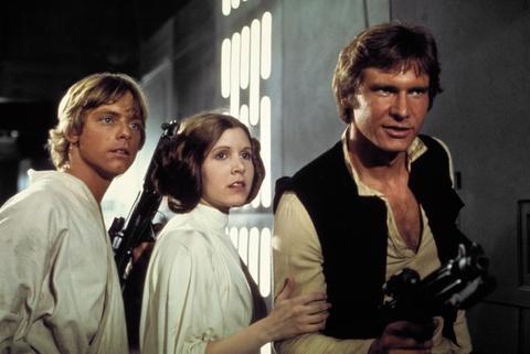 Nhung khoanh khac dep cua Cong chua Leia trong 'Star Wars' hinh anh 3