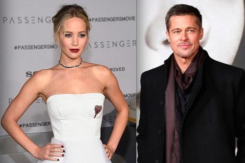 Brad Pitt, Jennifer Lawrence co the cung hop tac voi Quentin Tarantino hinh anh