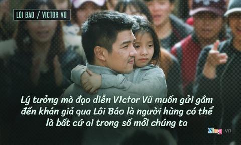 'Loi Bao' cua Victor Vu: Cau chuyen ve mot sieu anh hung 'thi xa' hinh anh 2