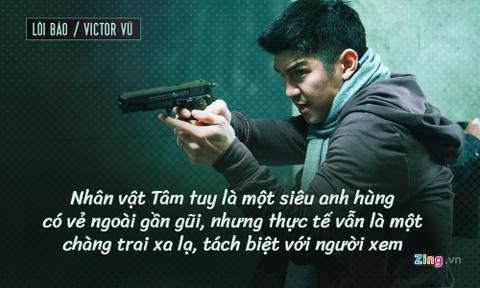 'Loi Bao' cua Victor Vu: Cau chuyen ve mot sieu anh hung 'thi xa' hinh anh 4