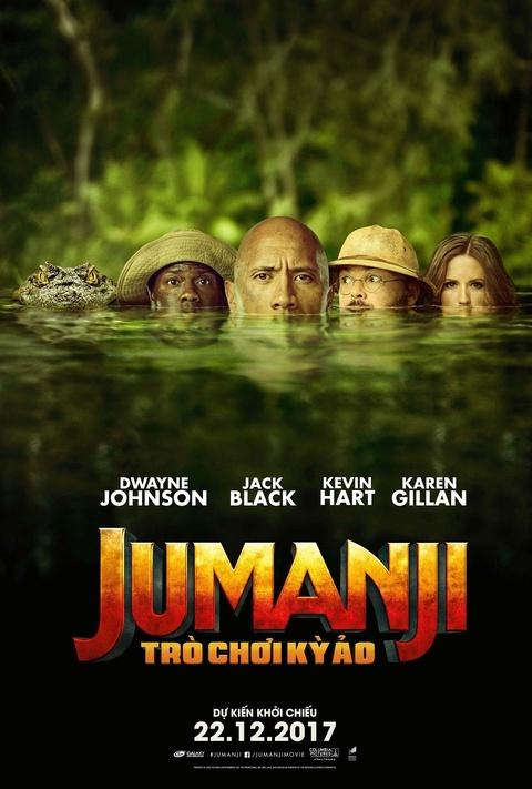 'Jumanji: Tro choi ky ao': Giai tri va tran ngap tieng cuoi hinh anh 1