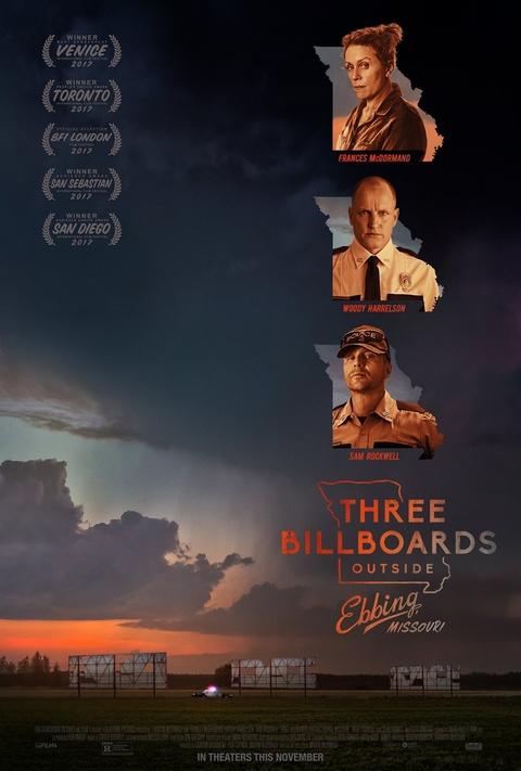 'Three Billboards Outside Ebbing, Missouri': Doi dau chi co mau den hinh anh 1