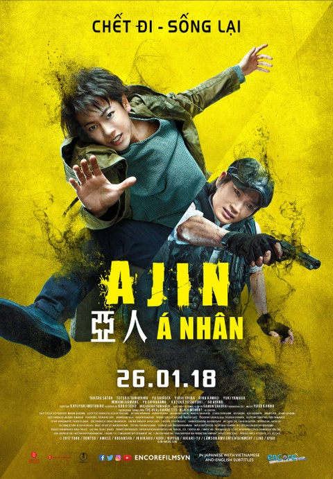'Ajin': Tran chien tan khoc, man nhan cua A nhan va Hac hon hinh anh 1