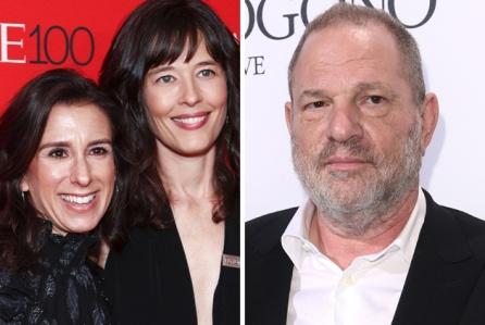 Qua trinh phanh phui be boi sex cua Harvey Weinstein duoc lam phim hinh anh