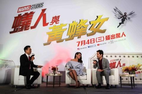 'Nguoi Kien va Chien binh Ong' cua Marvel lan dau ra mat bao chi hinh anh 2