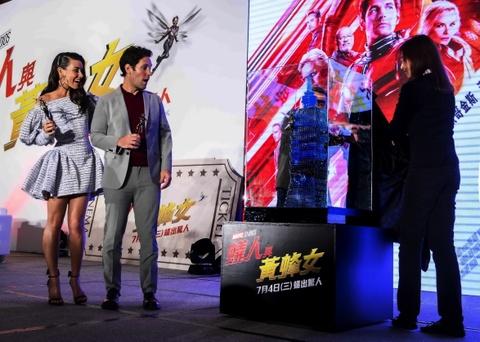 'Nguoi Kien va Chien binh Ong' cua Marvel lan dau ra mat bao chi hinh anh 5