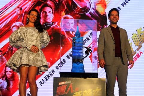 'Nguoi Kien va Chien binh Ong' cua Marvel lan dau ra mat bao chi hinh anh 9