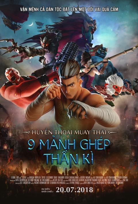 'Huyen thoai Muay Thai': Sieu pham hoat hinh kich tinh cua nguoi Thai hinh anh 1