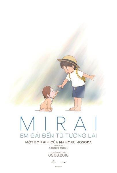 'Mirai': Phim hoat hinh Nhat Ban lam kho cac em nho hinh anh 1