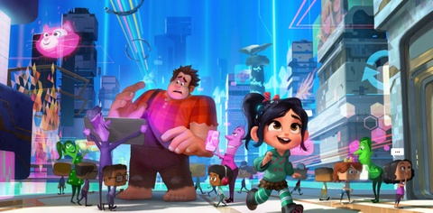 wreck it ralph 2 hinh anh