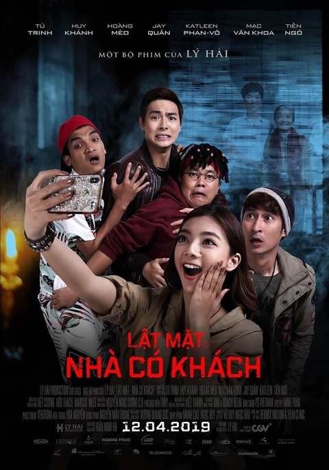 'Lat mat: Nha co khach' cua Ly Hai - it kinh di, nhung rat giai tri hinh anh 1