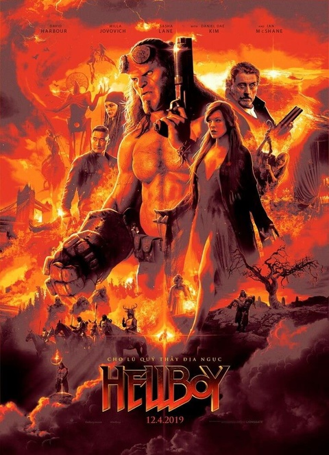 'Hellboy' (2019) - bao luc va dam mau nhung noi dung nham chan hinh anh 1