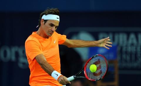 Ban ket Dubai Championship: Federer 2-0 Coric hinh anh