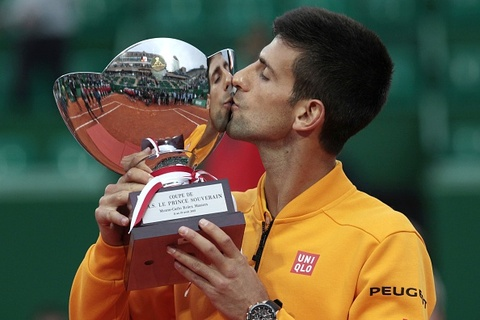 Vo dich Monte Carlo Masters, Djokovic lap ky luc moi hinh anh