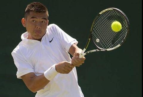 Thang kich tinh, Ly Hoang Nam vao chung ket Wimbledon tre hinh anh