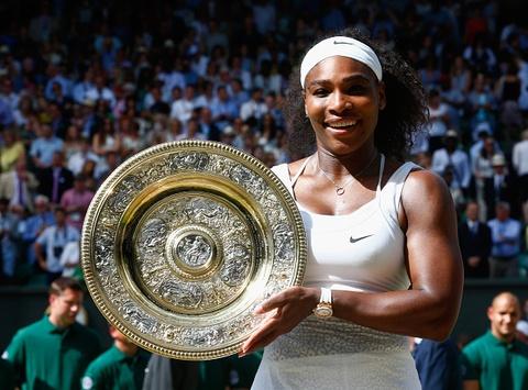 Serena Williams lan thu sau vo dich Wimbledon hinh anh