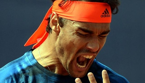 Nadal bi Fognini mang thang mat ngay tren san hinh anh