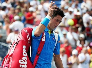 Djokovic thang de, Nishikori bat ngo bi loai hinh anh