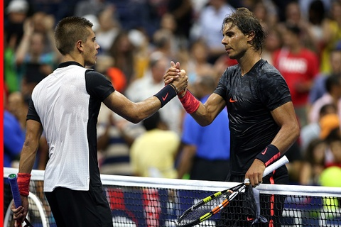 Vong 1 US Open 2015: Nadal 3-1 Coric hinh anh