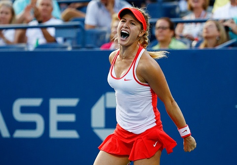 Vong 3 US Open 2015: Bouchard 2-1 Cibulkova hinh anh