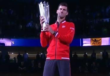Djokovic lap ky luc vo dich Shanghai Masters hinh anh
