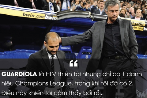Nhung phat ngon khac nguoi cua Jose Mourinho hinh anh 6