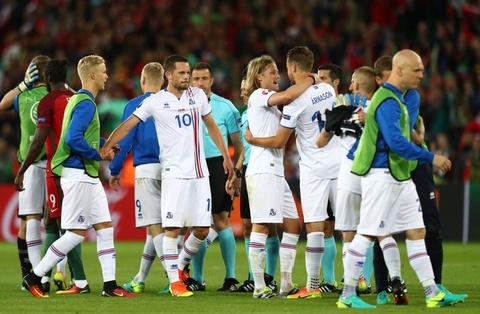 Ronaldo bat luc nhin Iceland an mung nhu vo dich Euro hinh anh 13