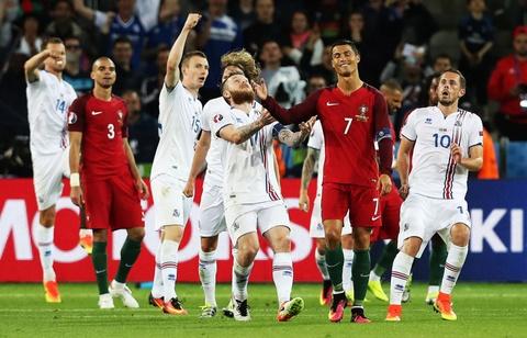 Ronaldo bat luc nhin Iceland an mung nhu vo dich Euro hinh anh 3