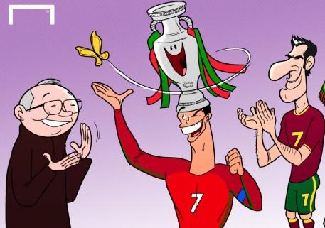 euro 2016 qua tranh biem hoa hinh anh