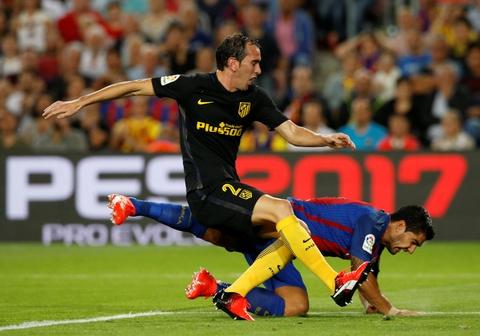 Messi chan thuong, Barca de Atletico cam hoa tai Nou Camp hinh anh 2