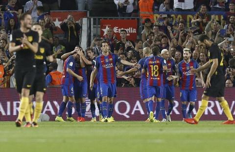 Messi chan thuong, Barca de Atletico cam hoa tai Nou Camp hinh anh 5