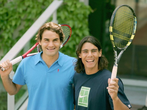 Federer nhan mon qua dac biet tu Nadal hinh anh 12