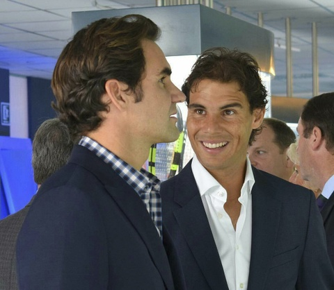 Federer nhan mon qua dac biet tu Nadal hinh anh 8