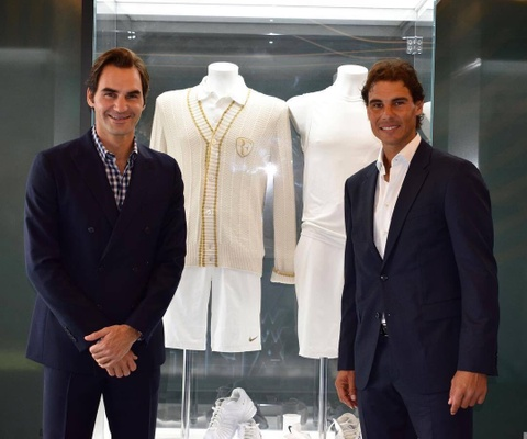 Federer nhan mon qua dac biet tu Nadal hinh anh 7
