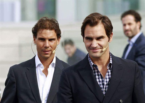 Federer nhan mon qua dac biet tu Nadal hinh anh 2