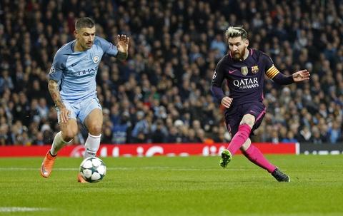 Messi mo ty so, Barca van thua nguoc 1-3 Man City hinh anh 3