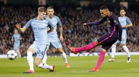 Messi mo ty so, Barca van thua nguoc 1-3 Man City hinh anh 5