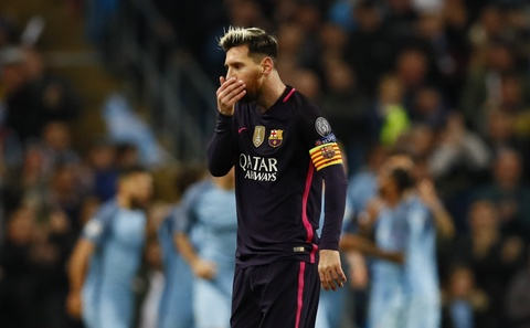 Messi mo ty so, Barca van thua nguoc 1-3 Man City hinh anh 8