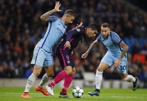 Messi mo ty so, Barca van thua nguoc 1-3 Man City hinh anh 2