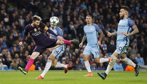Messi mo ty so, Barca van thua nguoc 1-3 Man City hinh anh 13