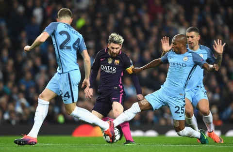 Messi mo ty so, Barca van thua nguoc 1-3 Man City hinh anh 6