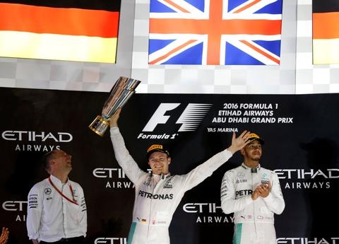 Nico Rosberg vo dich F1 mua giai 2016 hinh anh 2