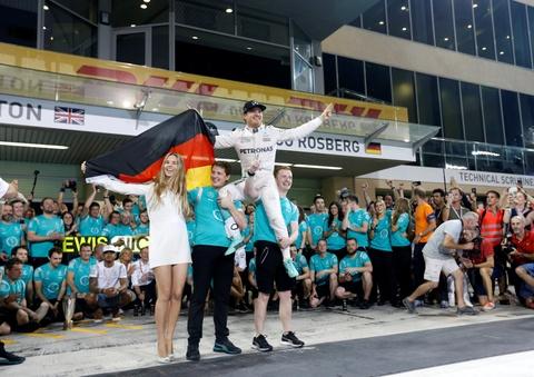 Nico Rosberg vo dich F1 mua giai 2016 hinh anh 13