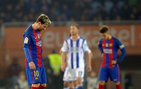 Messi ghi ban, Barca van tut lai o cuoc dua voi Real hinh anh 2
