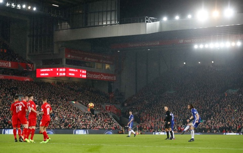 Diego Costa da hong phat den, Chelsea hoa Liverpool 1-1 hinh anh 4
