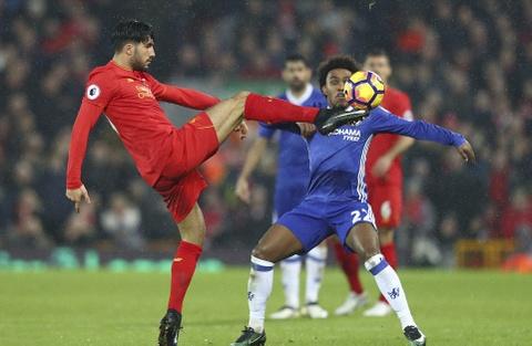 Diego Costa da hong phat den, Chelsea hoa Liverpool 1-1 hinh anh 2