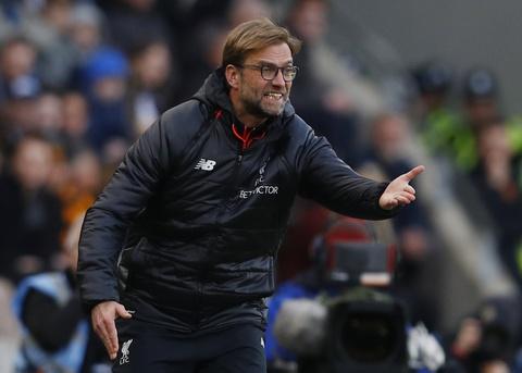 Klopp lang nguoi chung kien Liverpool bai tran hinh anh 4