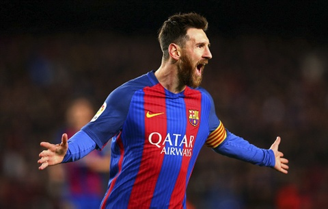 Messi lap cu dup ban thang va kien tao, Barca doi lai ngoi dau hinh anh 2