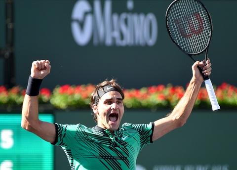 Highlights Federer 2-0 Wawrinka hinh anh